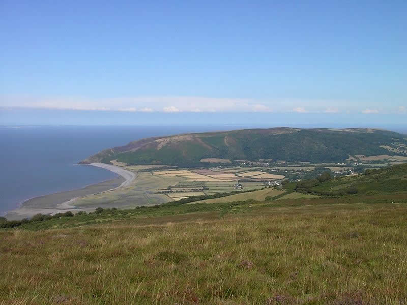 Porlock Vale on Exmoor - Photo by Sean Hattersley