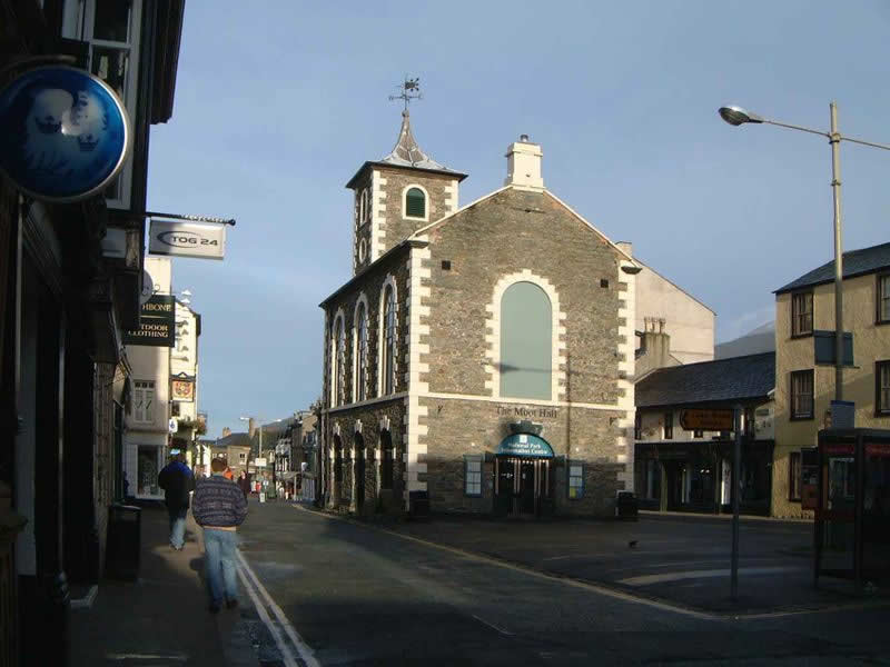 Keswick Town Centre - photo by Mick Knapton