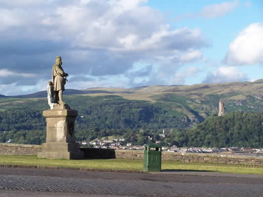 Robert the Bruce, Stirling, (c) Sean Hunter 2007