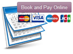 New Online Booking & Payment System Available!