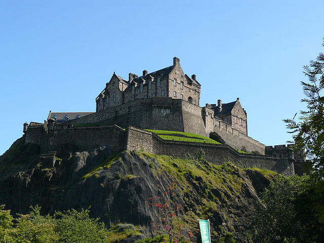 Edinburgh Castle (Wikipedia - Foto Ad Meskens)