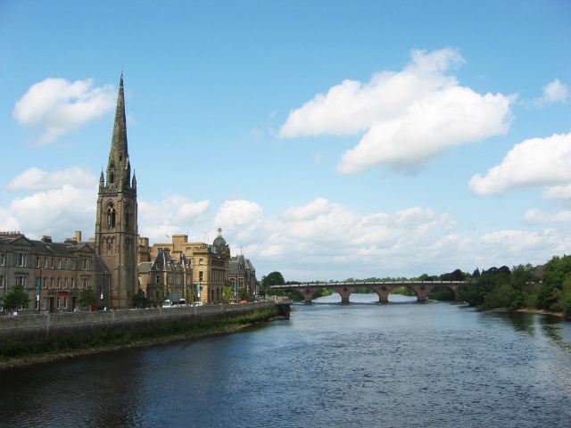 River Tay, Perth