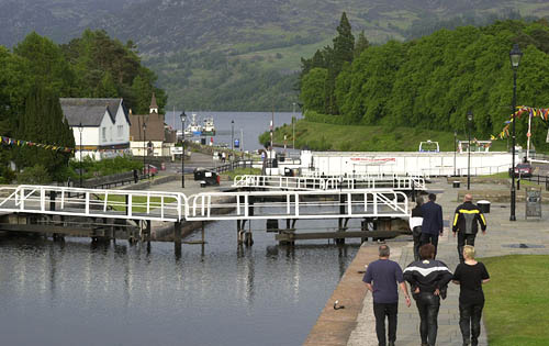 Caledonian Canal Locks
