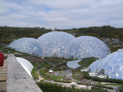 The Eden Project in Cornwall,  Eden Project