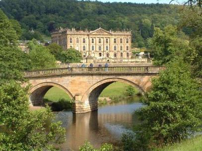 Chatsworth House, Chatsworth House and Bridge