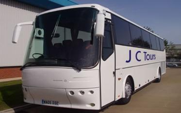 JC Tours &#39;Mid-Cornwall Coach Hire&#39;, 
