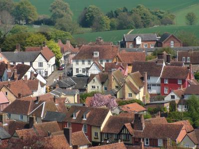 Lavenham Village - England&#39;s finest Medieval Town, 