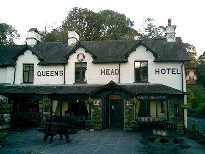 queens head hotel pub or bar in cumbria england. Black Bedroom Furniture Sets. Home Design Ideas