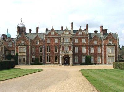 Sandringham Estate And Country Park Stately Home Norfolk England