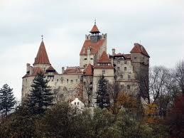 Dracula&#39;s Castle in Romania, 