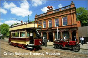 Crich Tramway Village,