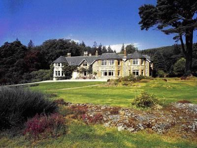 Glencanisp Lodge Large Self Catering in Sutherland in the Highlands