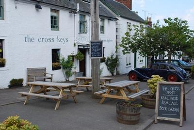 The Cross Keys In Kippen Near Stirling Scotland