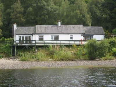 Cottage From Loch Venachar