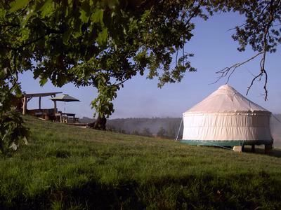 Luxury Eco Yurts in North Dordogne France