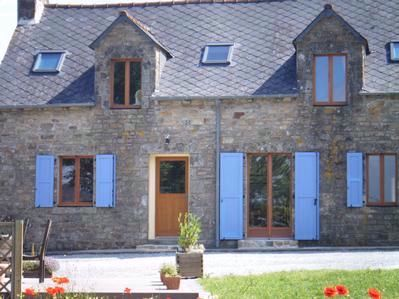 Fantastic Luxury Breton Longere Large Gite in Brittany