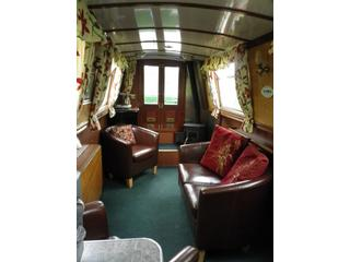 Carey Ginger Self Catering Narrow Boat Holiday England, Stone holiday cottage