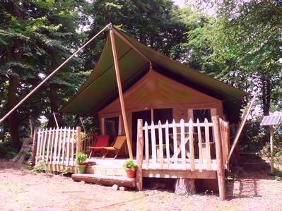 The Wood Life Safari Style Self Catering Campsite Devon