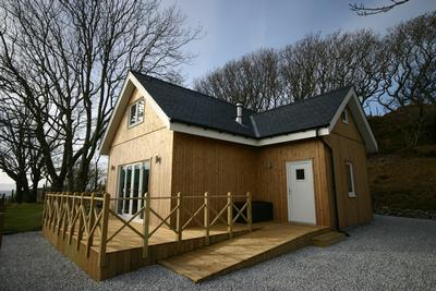 Sunnyside Croft Luxury Self Catering Lodge West Highlands Coast