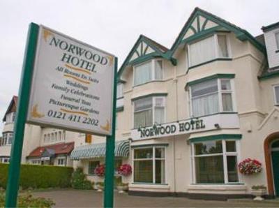 Norwood Hotel Small Hotel in West Midlands, Birmingham Hotel