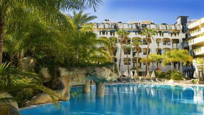 Gran Hotel Guadalpin Marbella Spa Area In Andalucia Spain