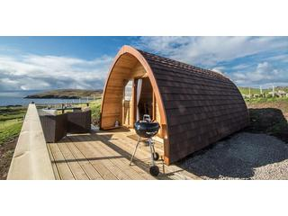 The Little Abodes Glamping Pods with Hot Tub Lochinver, Clachtoll Lochinver holiday cottage