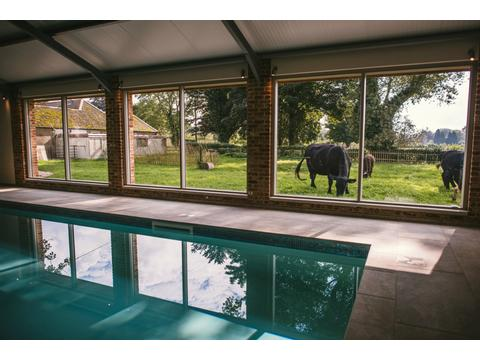Flint Luxury Pet Friendly Self Catering Cottage With Indoor Pool Hol