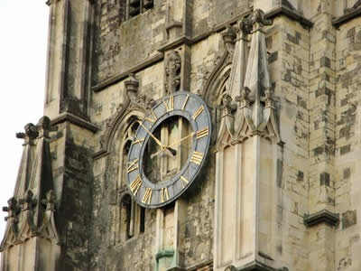 Canterbury Cathedral Clock (c) Rob Shephard