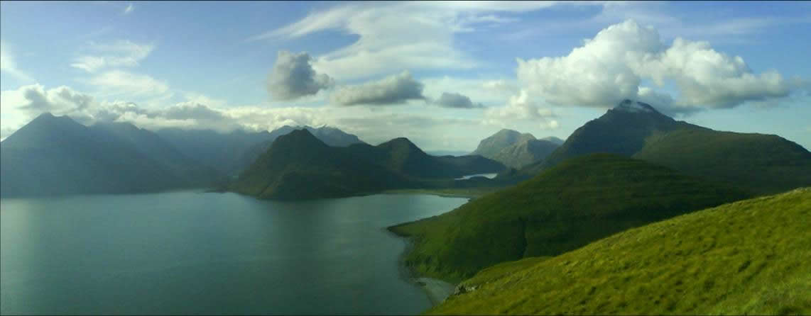 Cuillin panorama from above Elgol, © Dan Mitchell