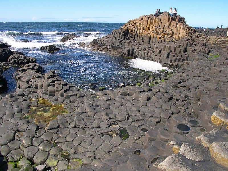 Giants Causeway - Photo by Flickr user Code Poet