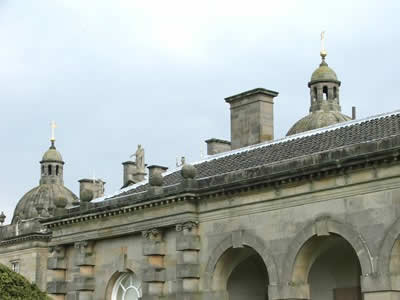 Roof Detail from Houghton Hall Photo © Rob Shephard 2008