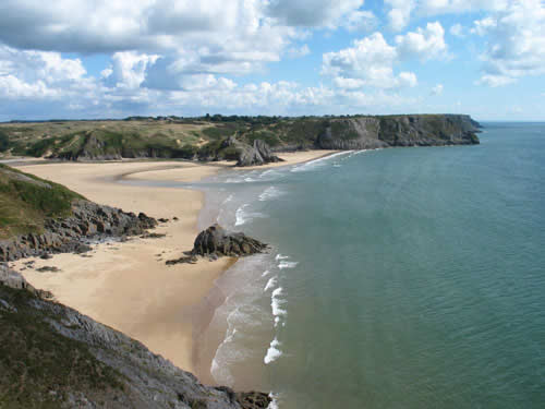 Three Cliffs Bay - Photo  by Jamie O
