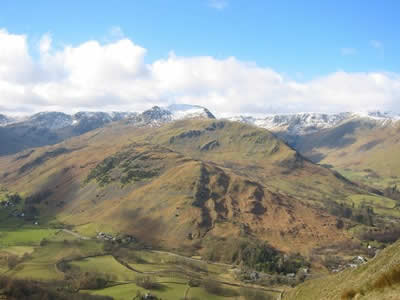 Helvellyn Range from Place Fell (c) Rob Shephard