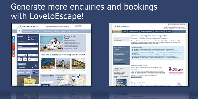 Advertise your Holiday Cottage/Home