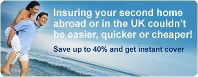 Holiday Home and Second Home Insurance